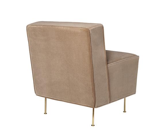 Modern Line Lounge Chair - Dining Height de GUBI   Sillones