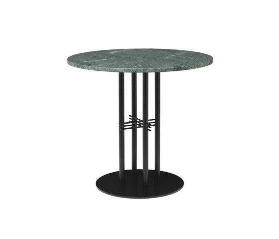 TS Column Dining Table Ø80 de GUBI   Mesas comedor