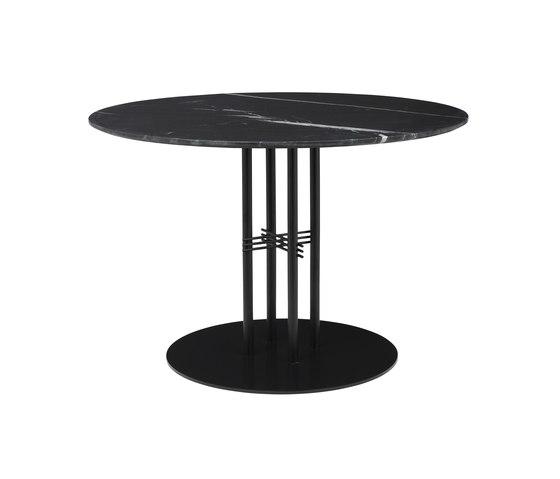 TS Column Dining Table Ø110 de GUBI | Tables de repas