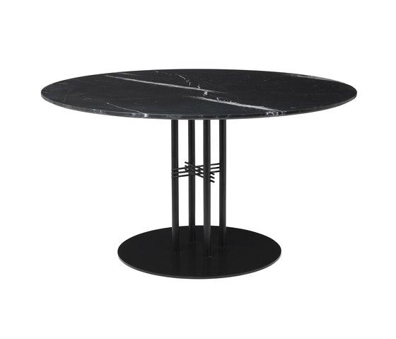 TS Column Dining Table Ø130 de GUBI | Mesas comedor