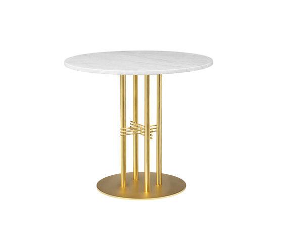 TS Column Dining Table Ø80 de GUBI | Mesas comedor