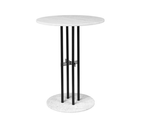 TS Column Bar Table Ø80 di GUBI | Tavoli pranzo