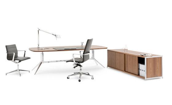 NoTable Desk di ICF | Scrivanie