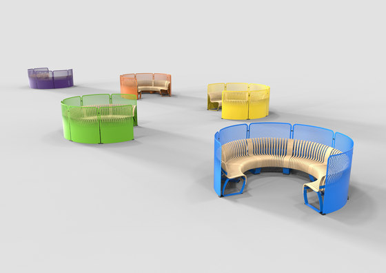 Radius Divider by Green Furniture Concept | Privacy screen