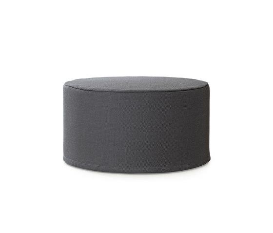 Cool cushion | round von Woodnotes | Poufs / Polsterhocker