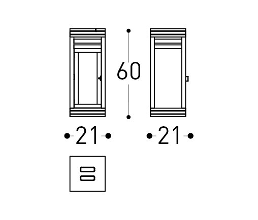 Barcode | Lantern by Varaschin | Lanterns