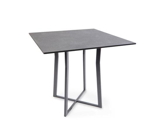 Suite Bistro table di Fischer Möbel | Tavoli da bistrò da giardino