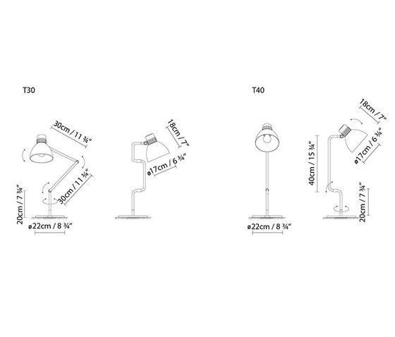 Blux System T de B.LUX   Lámparas de sobremesa