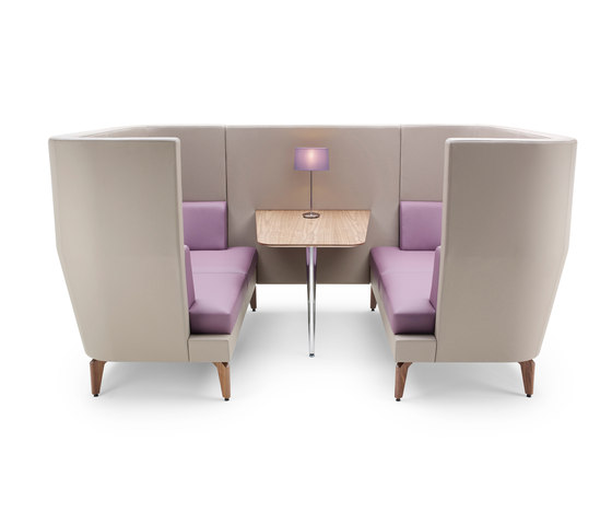 Entente High Back by Boss Design | Sofas