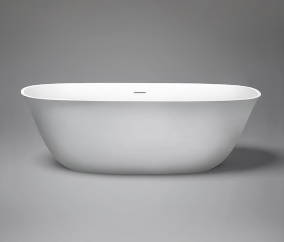 coco | blu•stone™ freestanding oval bathtub by Blu Bathworks | Bathtubs