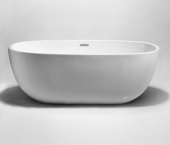 "halo | 67"" acrylic freestanding bathtub de Blu Bathworks | Bañeras"