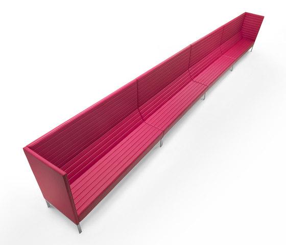 Stripes Sofa de Marelli | Bancos de espera