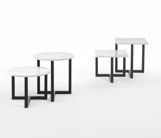 Twins Coffee Table de Giulio Marelli | Tables d'appoint