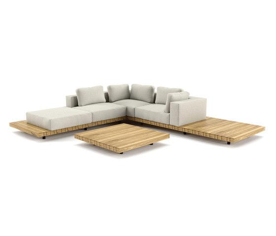 Plateau Lounge di solpuri | Divani da giardino