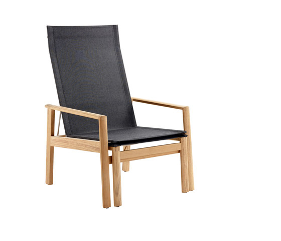 Safari Deck Chair, incl. Footstool by solpuri | Armchairs
