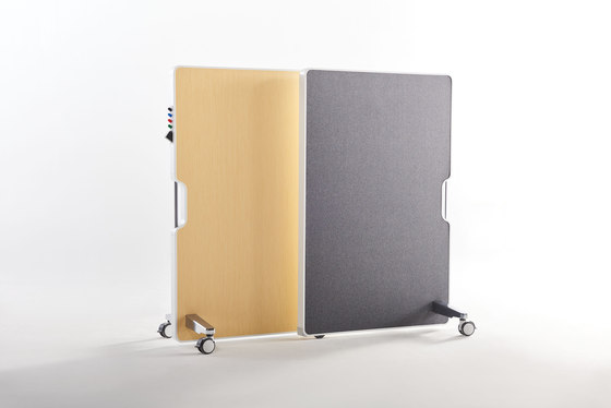 Thesis Mobile Markerboard by Teknion | Flip charts / Writing boards