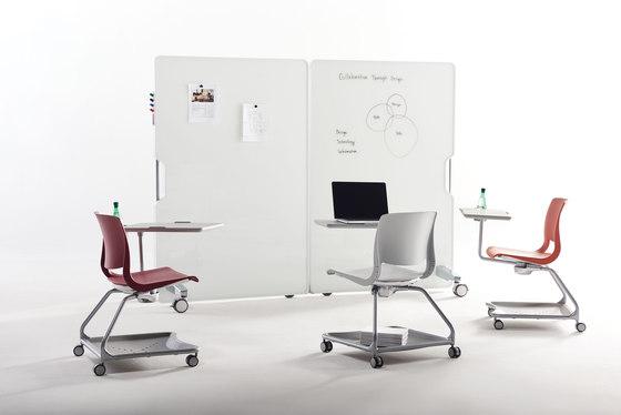 Thesis Mobile Markerboard de Teknion | Chevalets de conférence / tableaux