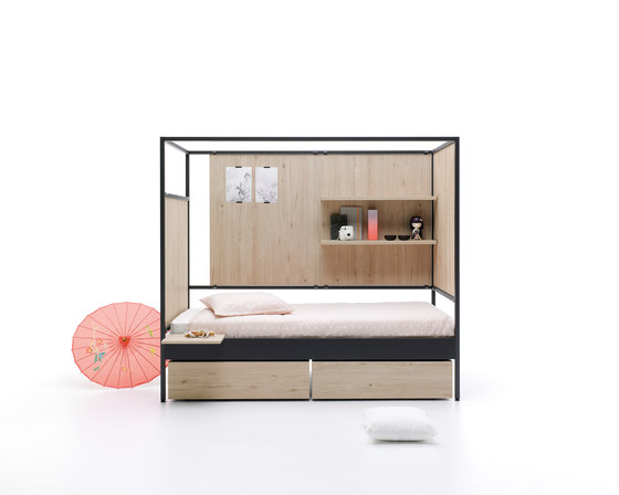 Nook | 10 by JJP Muebles | Single beds