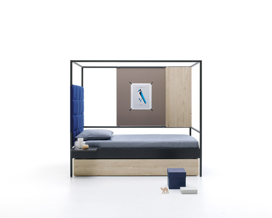 Nook | 12 by JJP Muebles | Single beds