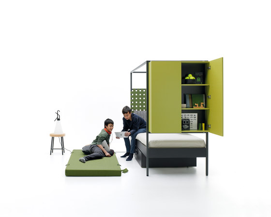 Nook | 16 by JJP Muebles | Single beds