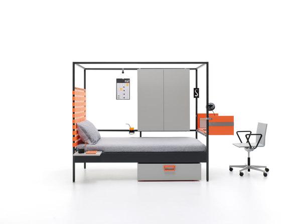 Nook | 17 by JJP Muebles | Single beds