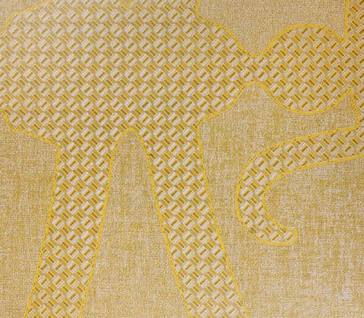 Menza | Sun Gold by Luxe Surfaces | Wall coverings / wallpapers