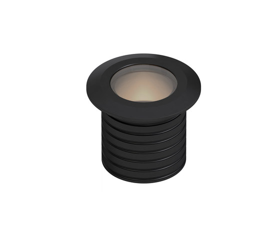 L366-L05 | black anodized by MP Lighting | Recessed wall lights