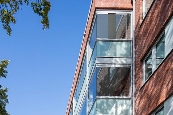 Balcony glasing SL 25 by Solarlux | Balcony glazing