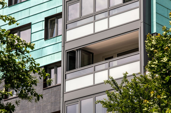Balcony glasing SL 60e de Solarlux | Cerramientos para terrazas / balcones