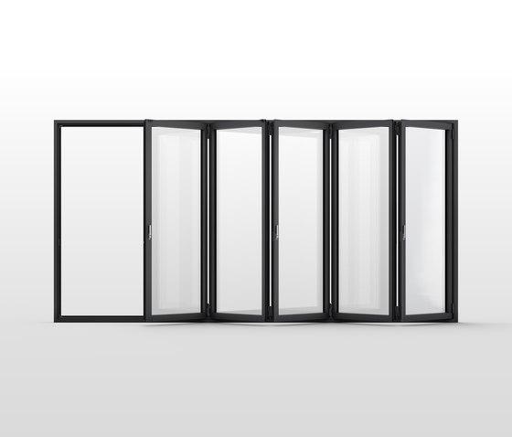 glas faltwand r evolution ecoline fenstersysteme von solarlux architonic. Black Bedroom Furniture Sets. Home Design Ideas