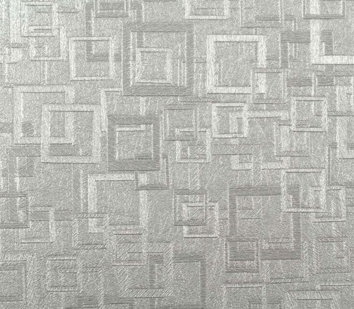 Plaza | Bruton Silver by Luxe Surfaces | Wall coverings / wallpapers