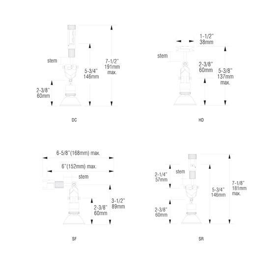 X01 | DC de MP Lighting | Lámparas de techo