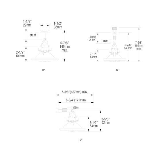 X02   SR von MP Lighting   Deckenleuchten