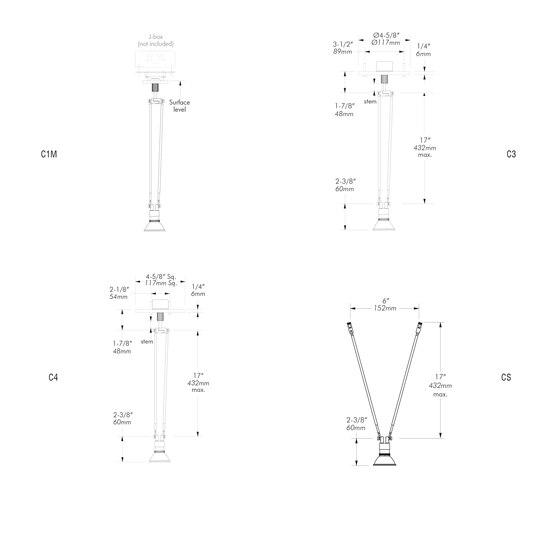X31 | C4 von MP Lighting | Deckenleuchten
