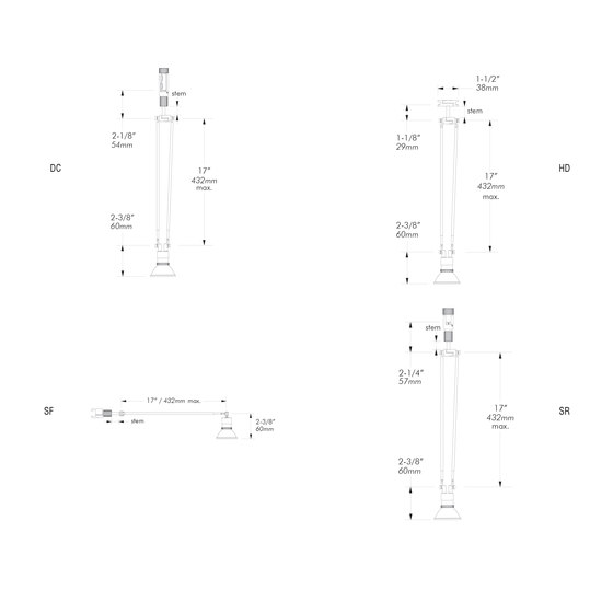 X31 | DC by MP Lighting | Ceiling lights