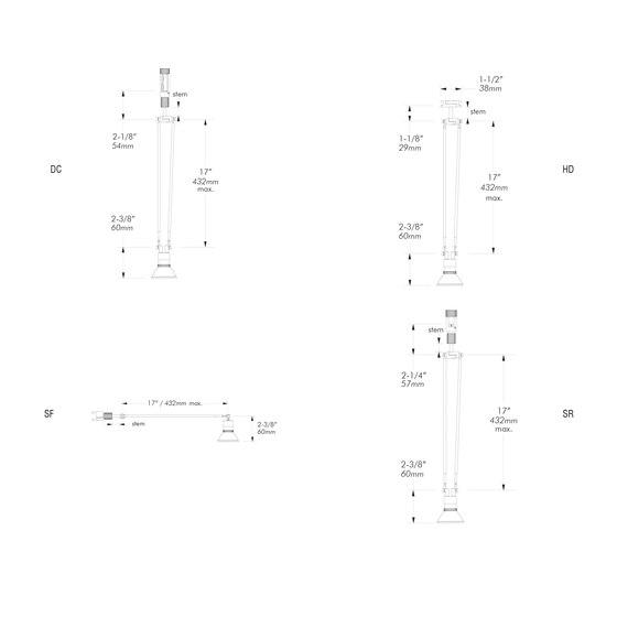 X31 | SR von MP Lighting | Deckenleuchten