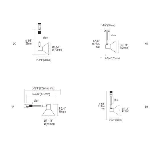 X45 | DC von MP Lighting | Deckenleuchten