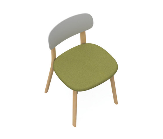 Zones Side Chair by Teknion | Chairs