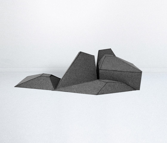 Les Angles by Smarin | Modular seating elements