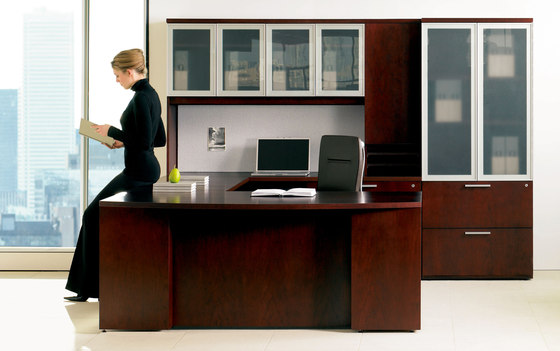 Expansion Wood by Teknion | Desks