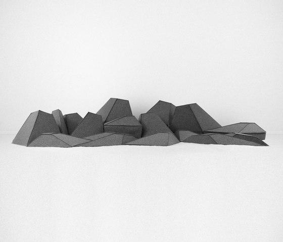 Les Angles de Smarin | Elementos asientos modulares