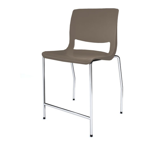 Variable Stacking Chair by Teknion | Bar stools