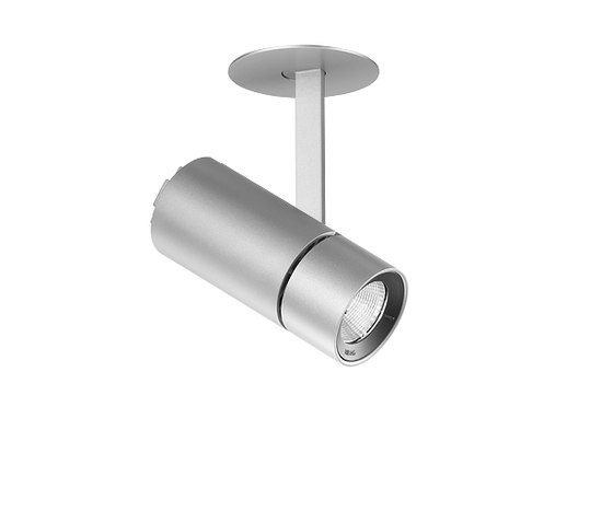 SPYKE mounted spotlight element grau de RIBAG | Plafonniers encastrés