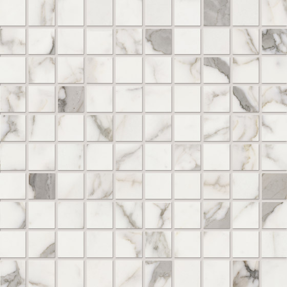 Elements Lux | Calacatta Mosaic by Keope | Ceramic mosaics
