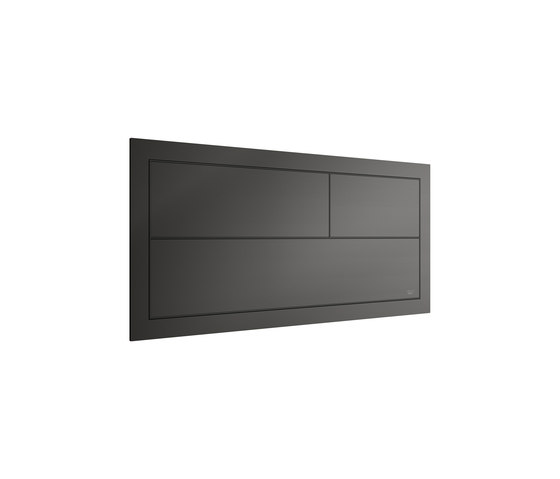 INSTALLATION SYSTEMS | Built-in 3/6L dual capacitative operating flush for Pro-Sysem support 550 mm | Nero by Armani Roca | Flushes
