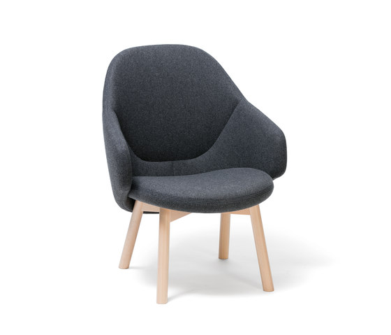Alba Lounge Armchair by TON | Armchairs