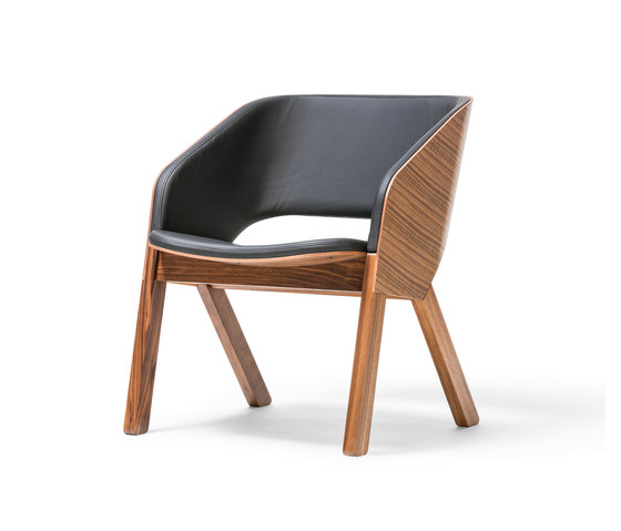 Merano Lounge Armchair di TON | Poltrone lounge