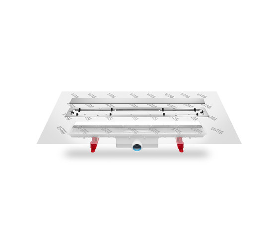 SHOWER TRAYS | InDrain Channel X3 850 by Armani Roca | Linear drains