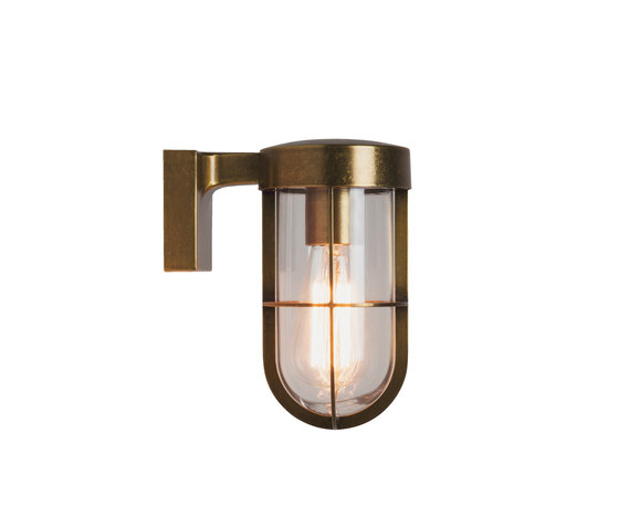 Cabin Wall Light Antique Brass by Astro Lighting   Outdoor wall lights