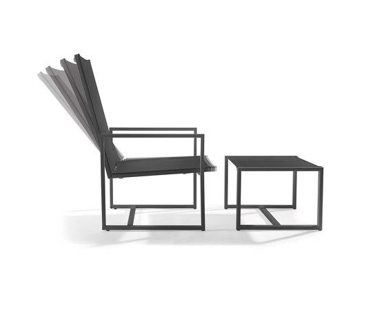 Latona recliner 1 seat von Manutti | Gartensessel